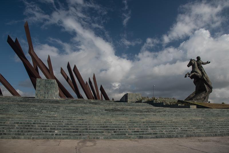 Cuba - Santiago, place de la Révolution