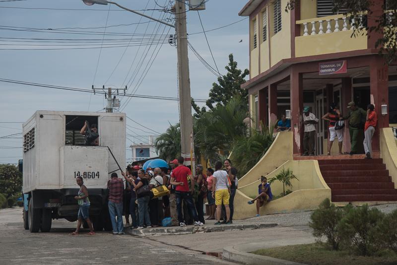 Cuba - Santiago - transports en commun