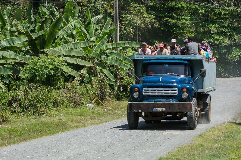Cuba - transport en commun