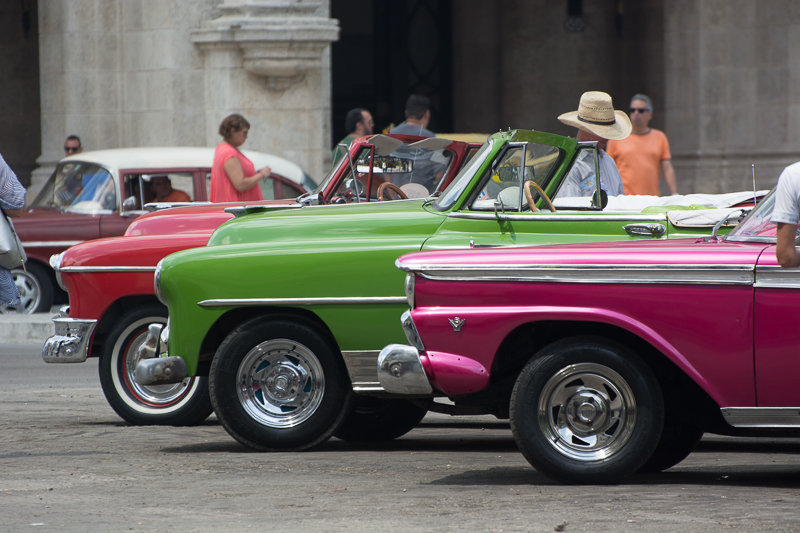 Cuba - La Havane, tour de ville en vieille américaine