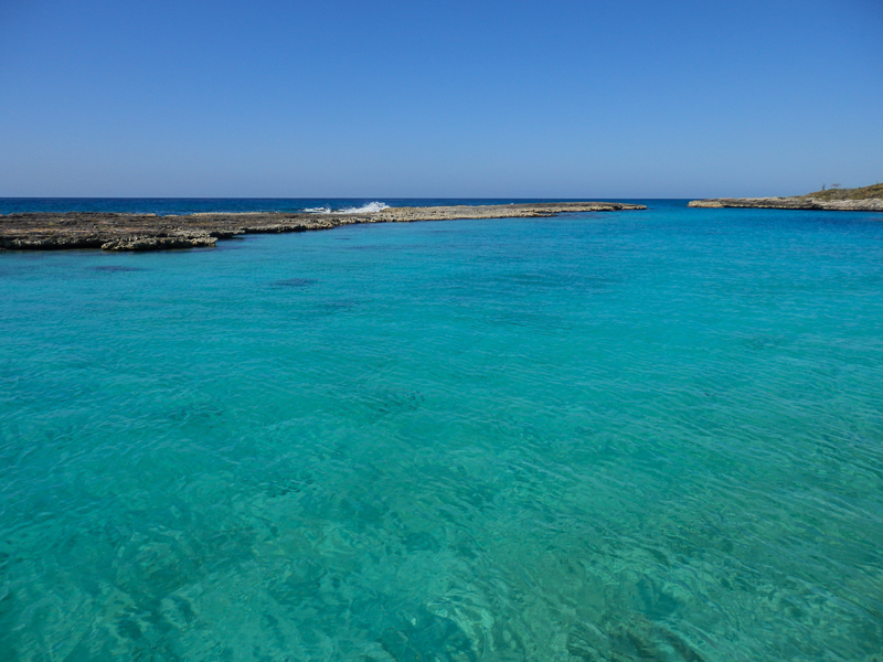 Caleta Buena sur la mer des Caraibes