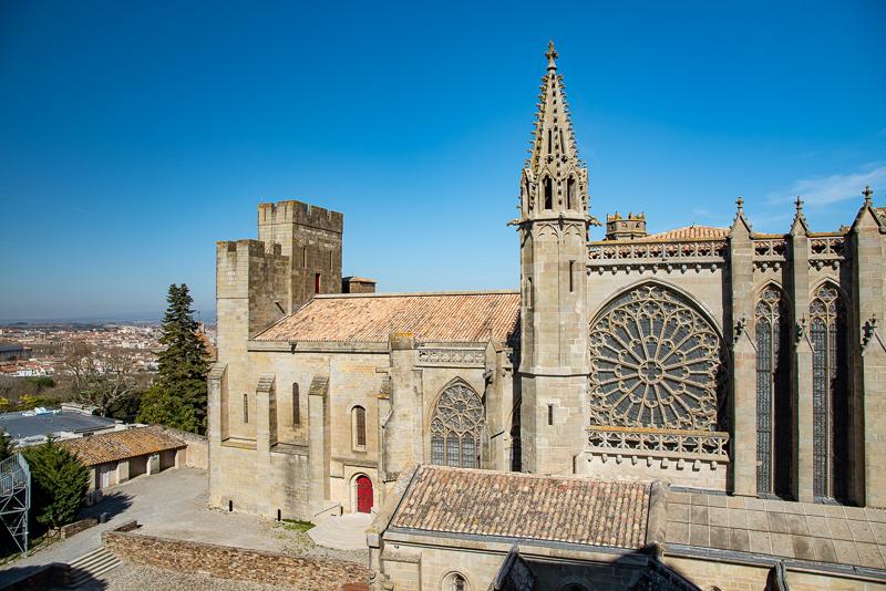 Carcassone, l'église de la citadelle