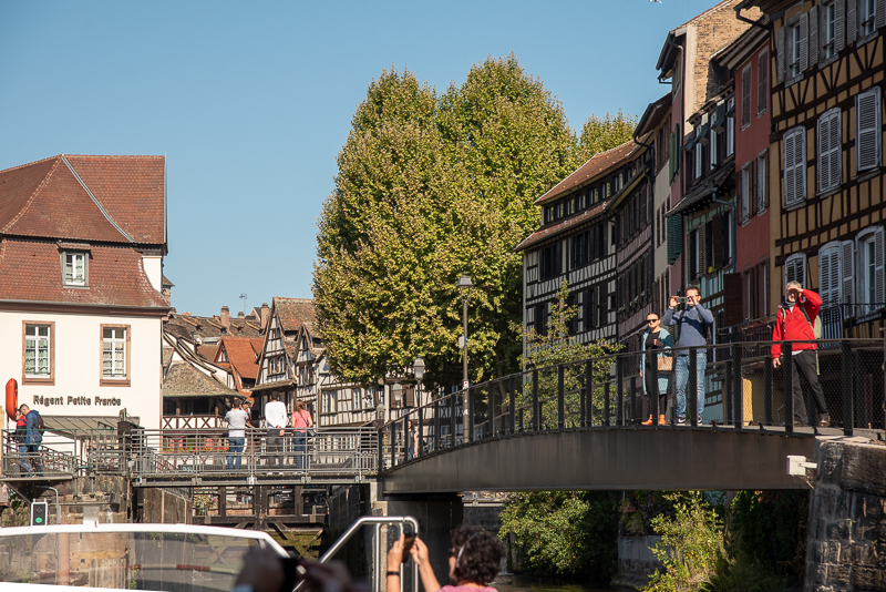 Alsace - Strasbourg, ballade en bateau dans la petite France