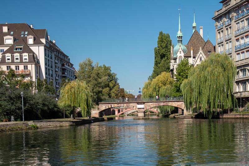 Alsace - la petite France à Strasbourg, balade en bateau