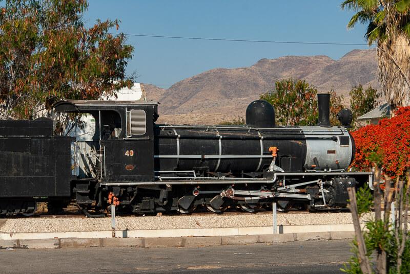 Afrique australe -Namibie, Windhoek, chemin de fer