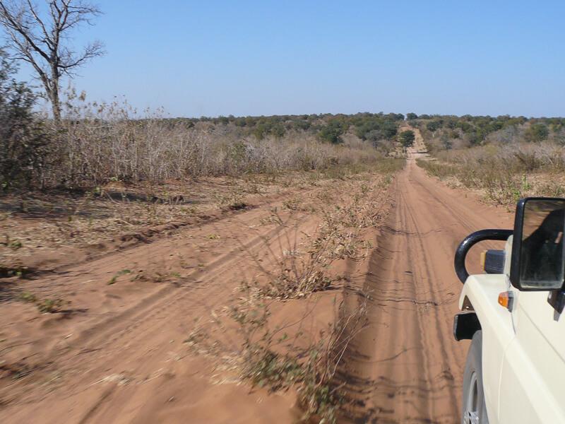 Afrique australe - Botswana, très longues pistes de sable