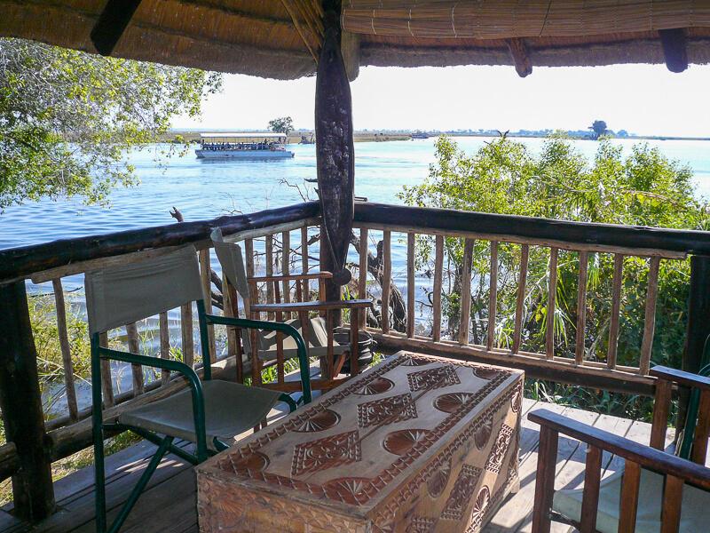 Afrique australe - Botswana, camping à Chobe