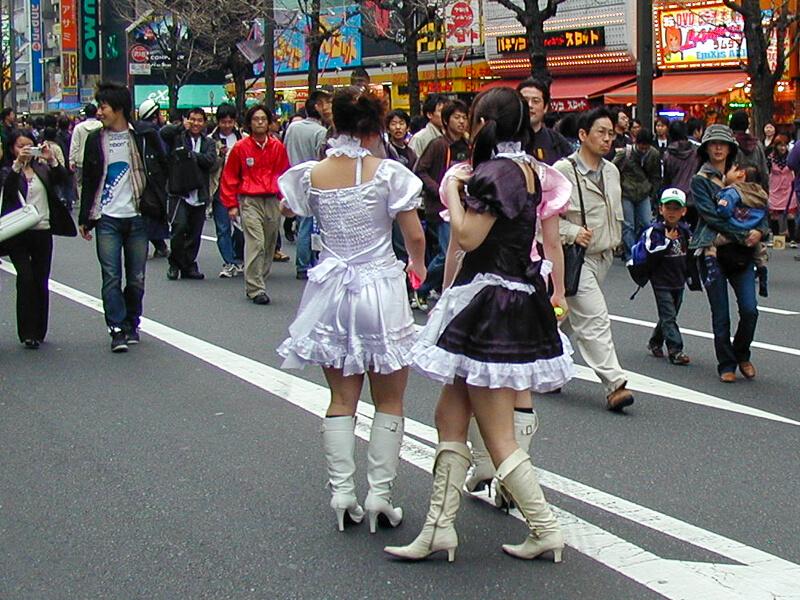 Japon,Tokyo - Quartier Arajuku