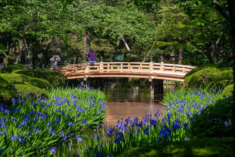 Japon, kanazawa - Le Jardin Kenrokuen