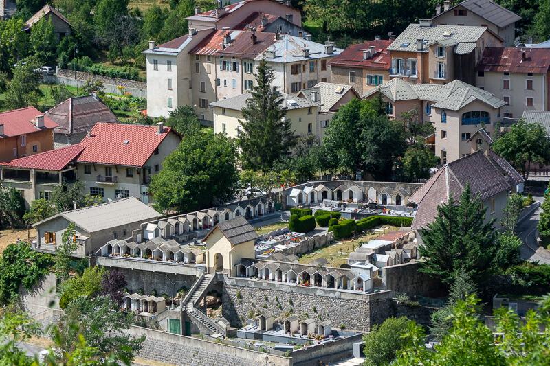 Mercantour, Saint-Etienne de Tinée - cimetière