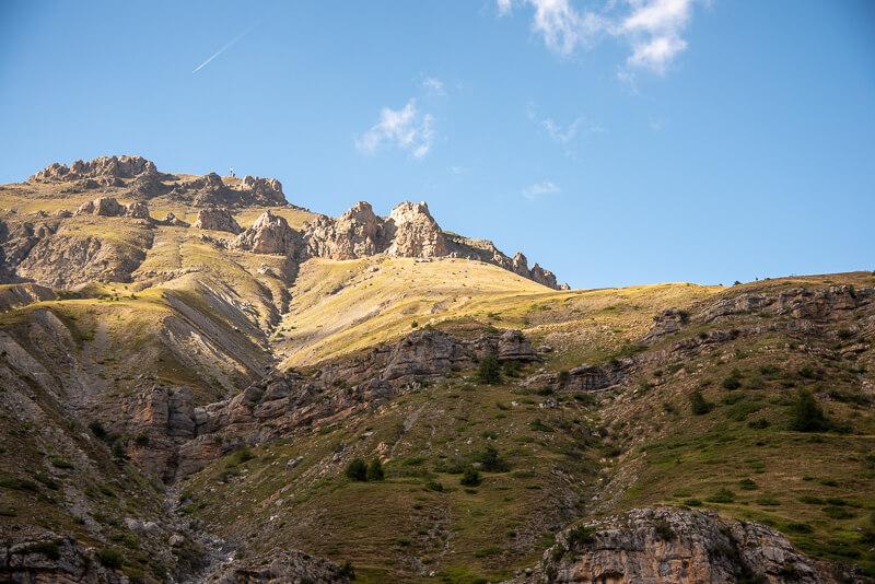 Mercantour - vallon de Roya, col du Blainon