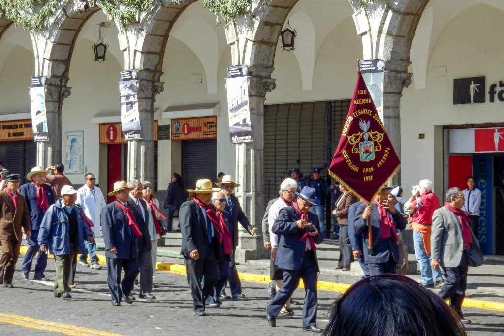 Pérou, Arequipa - Fête dans la ville blanche