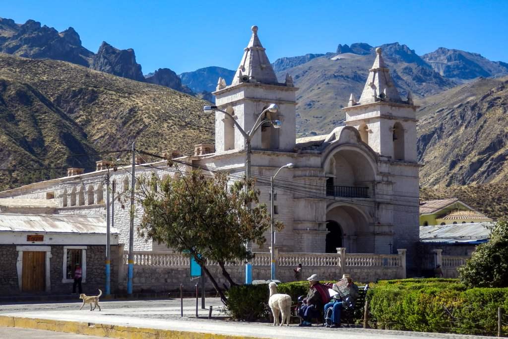 Pérou, Chivay - Eglise de Chivay