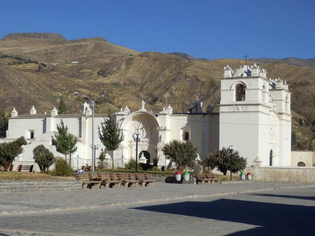 Pérou, Chivay - Eglise à Yanque