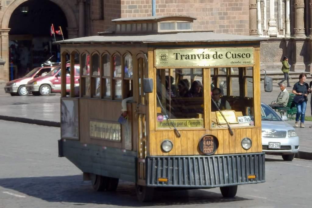 Pérou, Cuzco - bus historique