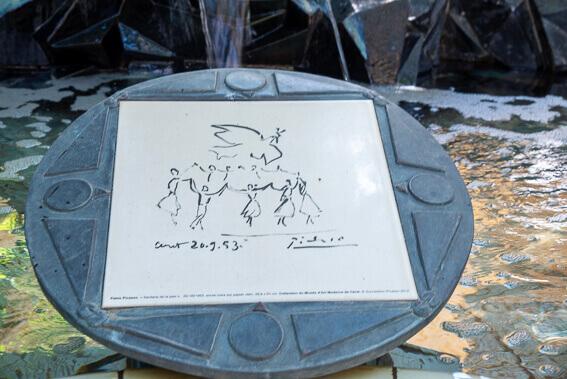 France- Arrière pays de Collioure, Céret - hommage à la danse de Picasso