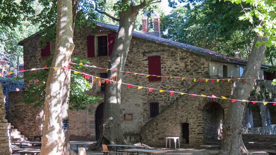 France- Arrière pays de Collioure, ermitage ND de la consolation