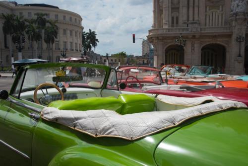 Cuba - les vieilles américaines