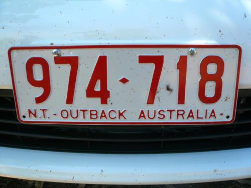 Australie - Plaques d'immatriculation