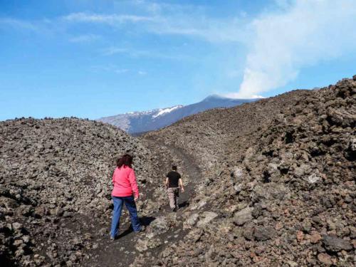 Etna : balade à pied