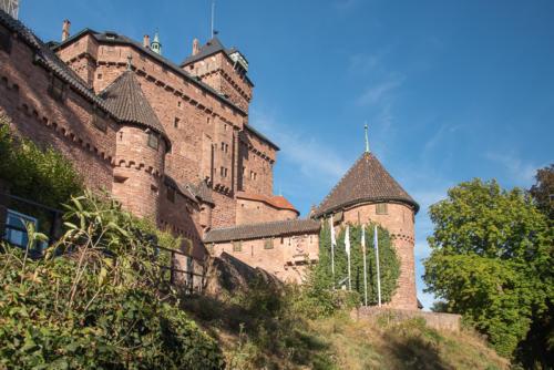 Alsace - Château du Haut Koenigsbourg