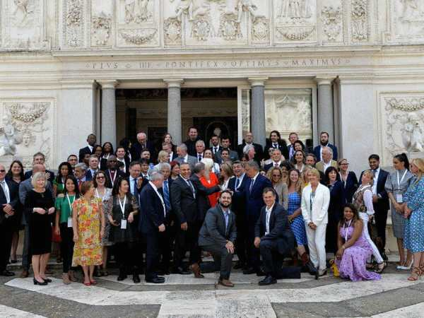 Globesight Launches Refugees Shine at the Vatican