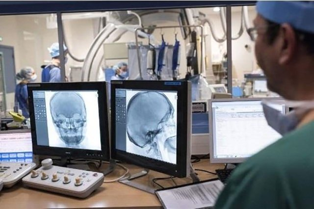 Image: DTAS is more rapid than CT for detecting stroke obstructions (Photo courtesy of Getty Images)