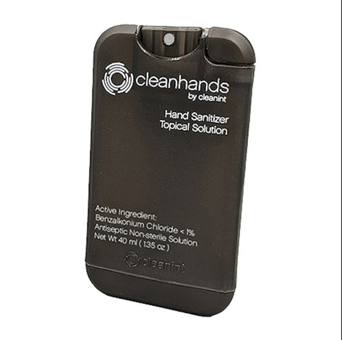 Cleanhands Refillable Hand Sanitizer Clip