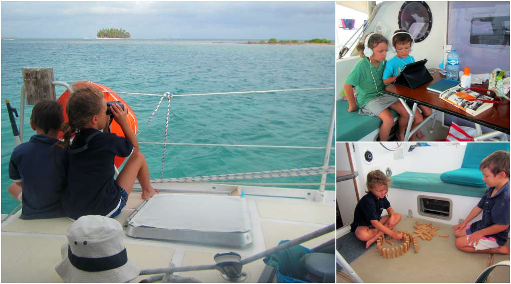 Onboard entertainment! Sailing in San Blas with kids, Panama