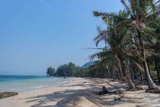 Beach im Norden der Insel