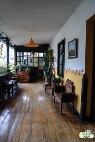 Unser Hostel..