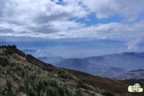 Aussicht auf Quito