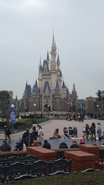 Cinderella's Castle, same as in Florida