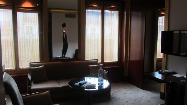 Park Hyatt Paris Vendome Executive Suite Living Room