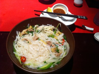 Delicious Vietnamese Pho in Saigon Restaurant