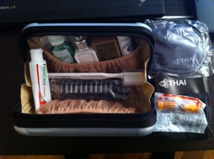 Rimowa Amenity kit contents