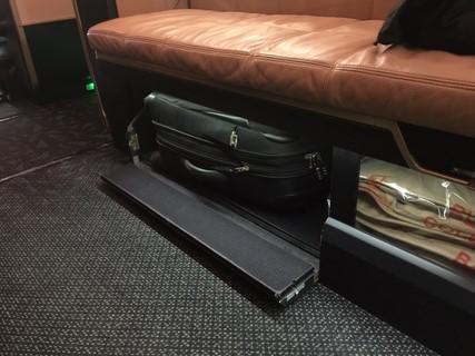 ottoman storage suitcase