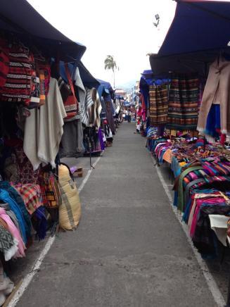 Local market next to Cumbaya (Quito)