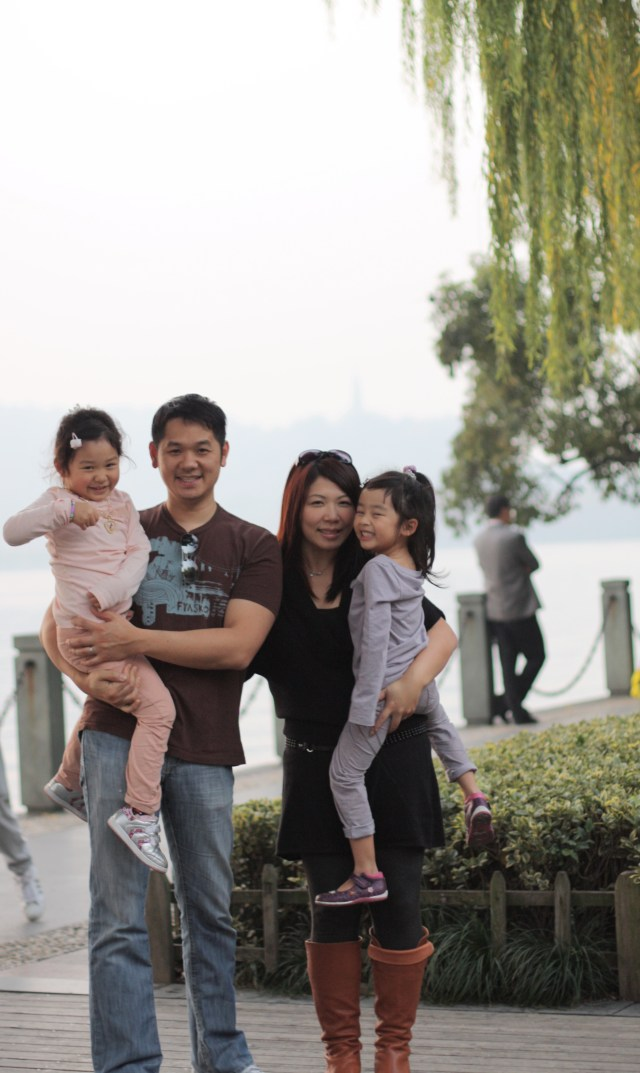 Family trip to Hangzhou, China, Nov. 2011