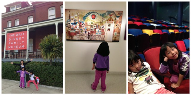 An outing to the Presidio, to visit the Walt Disney Museum during their Snow White Exhibit back in May