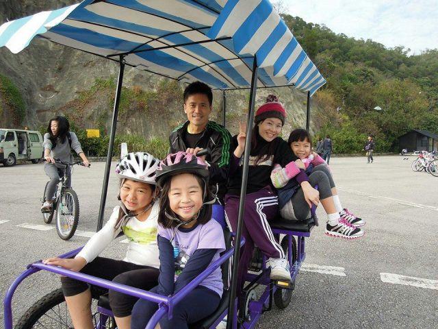 Biking + BBQ with cousins