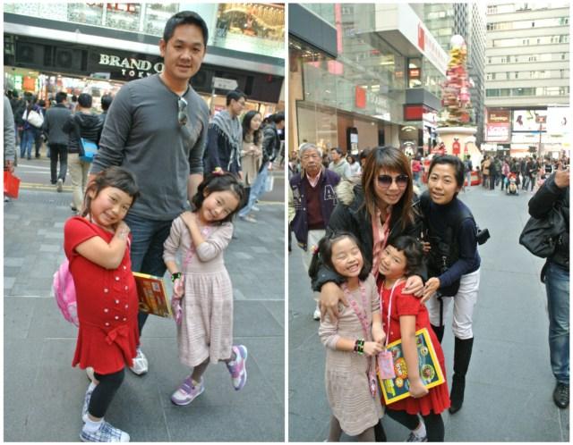 Amidst the holiday buzz in Tsim Sha Tsui