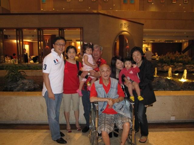 2008: Family trip to Hong Kong
