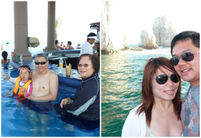 2011: Trip to Cabos with my in laws