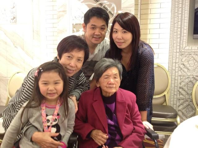 2011: Family trip to Hong Kong