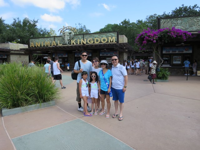 2014: Trip to Orlando, Florida with Mimi's family