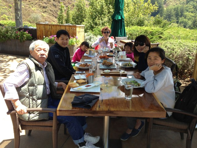 2013: Family trip to Big Sur