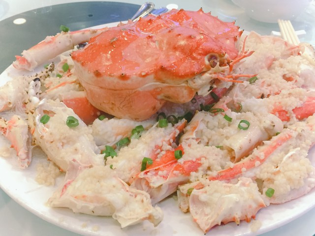 "The ""must-have"" Alaskan King Crab in Vancouver!"