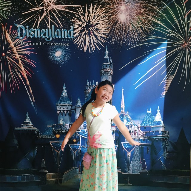 Kind of overdressed for Disneyland but hey, she's the birthday girl! :)