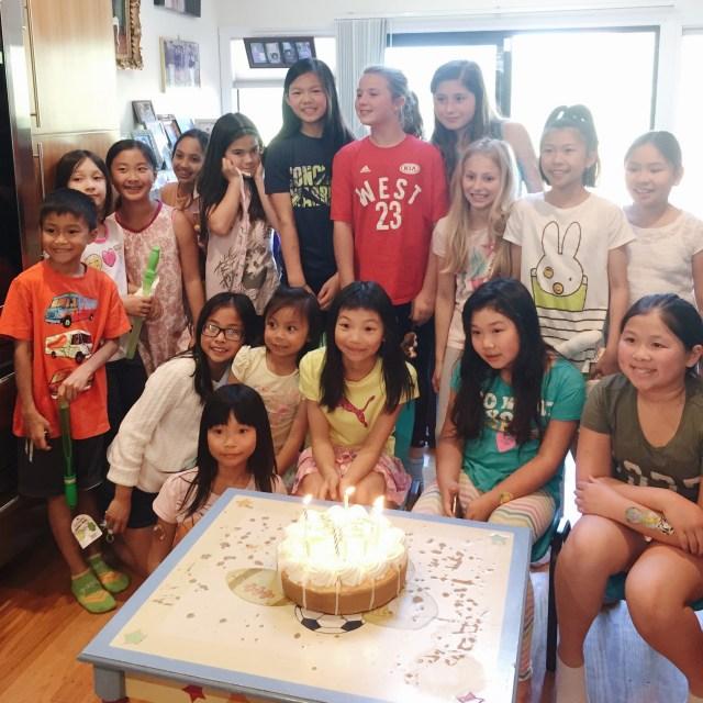 Sam's birthday party